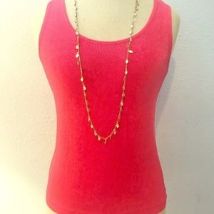Chico's Pink Tank Top Size 0 Perfect for layering!